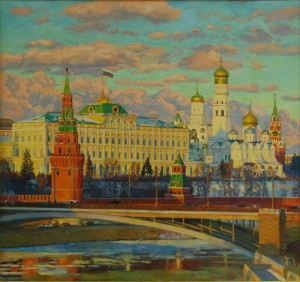Москва. 2016г. Х.м. 165х175