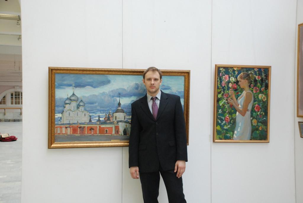 На выставке в манеже Санкт-Петербург
