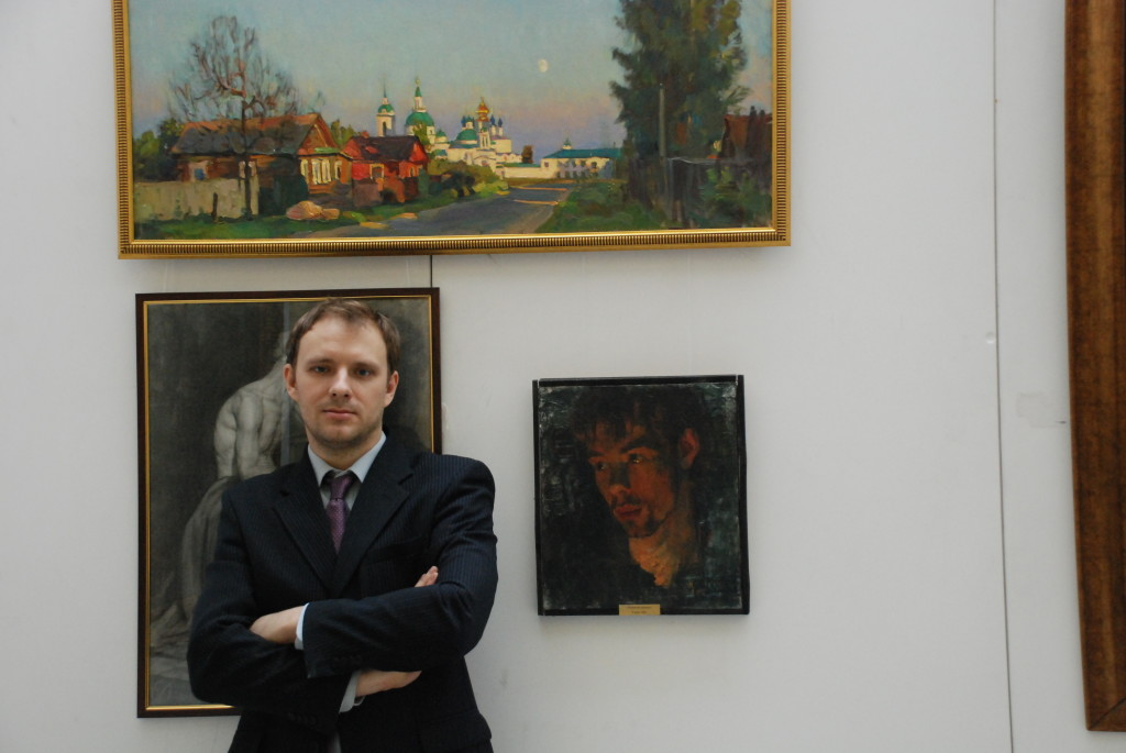 На выставке в манеже Санкт-Петербург.