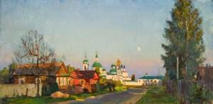 На окраине Ростова. 2012. Х.,м. 57,3х116