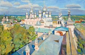 Панарамный-вид-Ростова-Великого 100х80