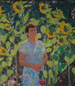Портрет мамы. 2018г. Х.м. 1500х1365