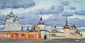 Ростов Великий. 4 курс. 2012. Х.,м. 70,5х137