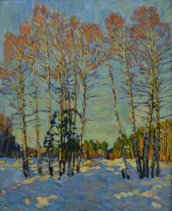 Начало зимы. 2016г. Х.м. 80х65,5