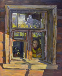 Окно, Рязань. 2012г. Х.м 120х97
